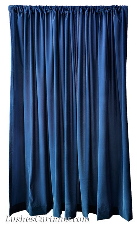 Flatbed Curtain Side Trailers Navy Blue Velvet Christmas Sto