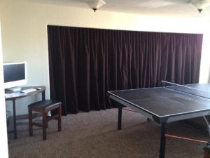 large-brown-curtain-room-divider-partition
