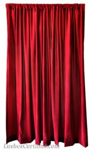 burgundy-flocked-velvet-curtain-panel-drapery