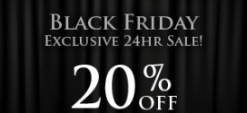 Our Exclusive 24hr Black Friday Sale!