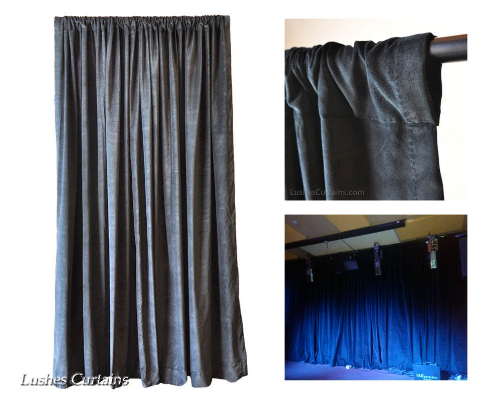 How To Correctly Hang Rod Pocket Top Curtains Lushes
