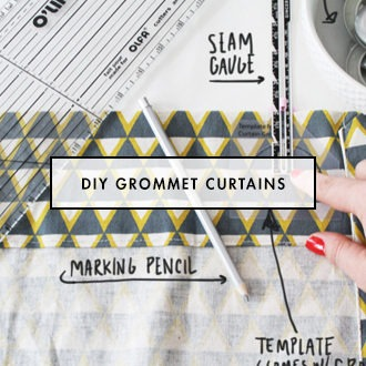 How To Make Your Own Curtains With Grommet Eyelets