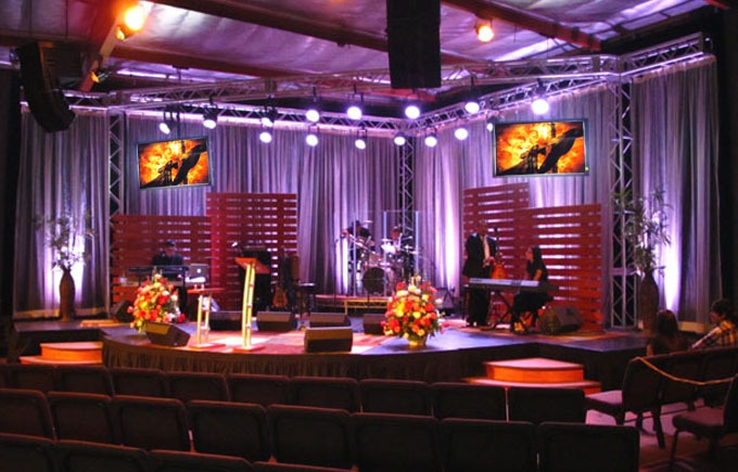 How Churches And School Stages Can Save Money On Drapery | Lushes Curtains  Blog