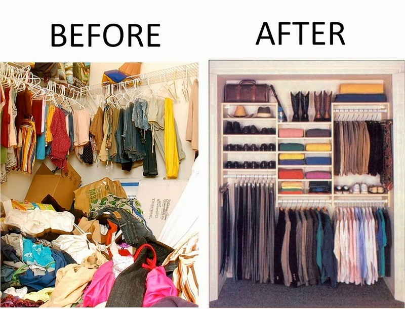 Declutter Your Home how to declutter and organize your home | lushes curtains blog