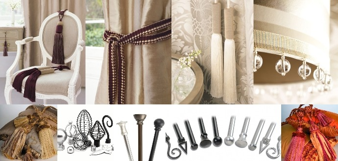 Choosing the Right Accessories For Your Curtains   Lushes Curtains ...