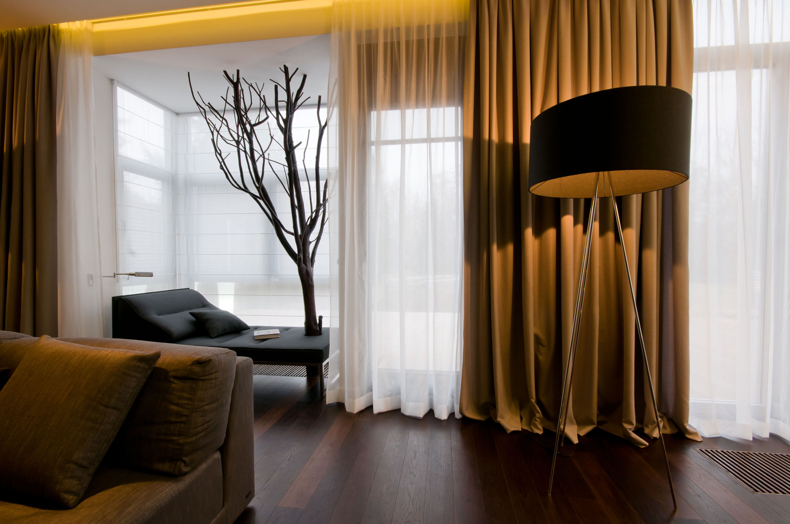 make that bold statement with velvet drapes and curtains