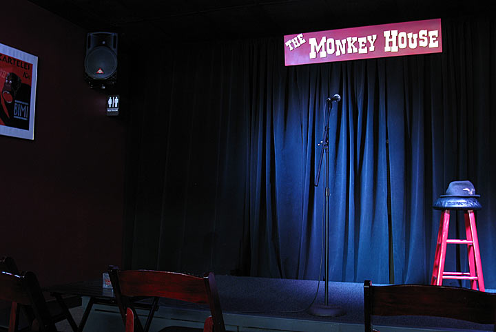 Comedy-stage-curtain-background