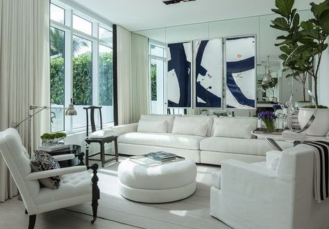 How White Velvet Curtains Are Perfect For Any Miami Theme Decor