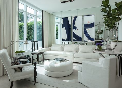 How White Velvet Curtains Are Perfect For Any Miami Theme