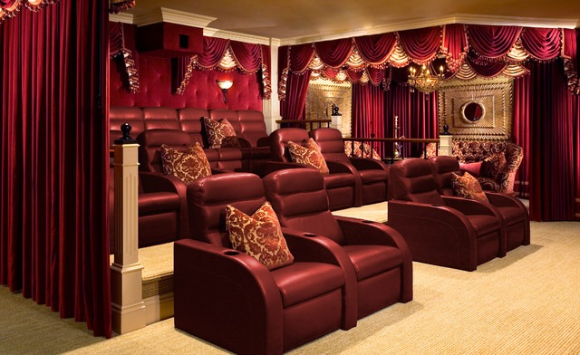 Make Your Home Theater More Real Lushes Curtains Blog
