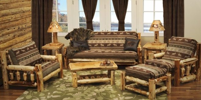 Log furniture what to consider lushes curtains blog for Living room group sets