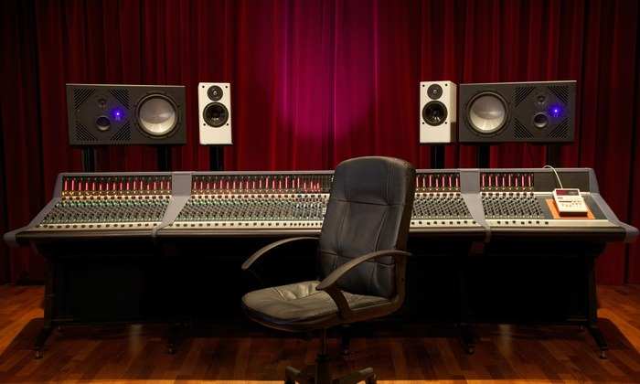 Sound Dampening Velvet Curtains For Recording Studios