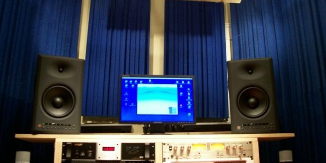 Acoustic Curtains For Studio Recording : Sound dampening velvet curtains for recording studios