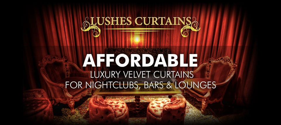 Lushes Curtains Create Luxurious Mood With Economy Pricing