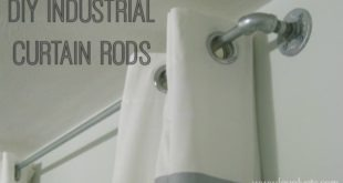 How to Make Your Own Inexpensive Extra-Long Curtain Rod