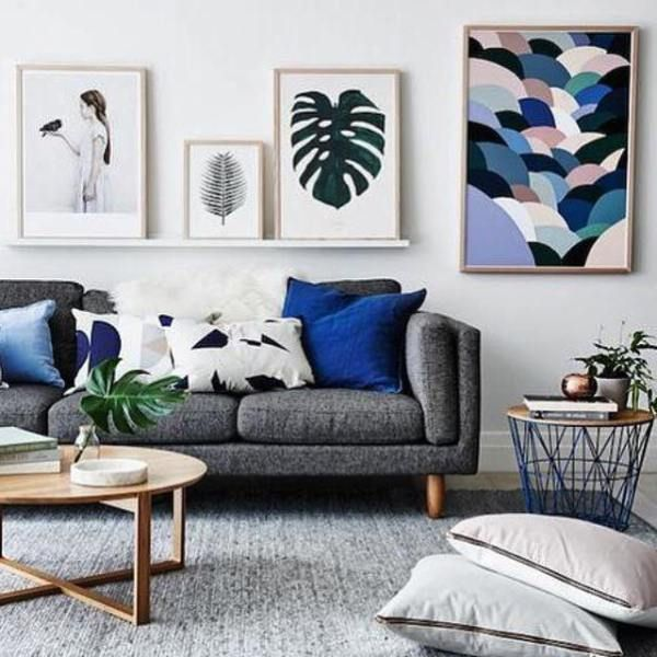 Living Room Designs Funny Colorful Living Room Decorating Ideas Blue Sofa Living Room Living: Transform A Room With Inspired Art And Soft Furnishings