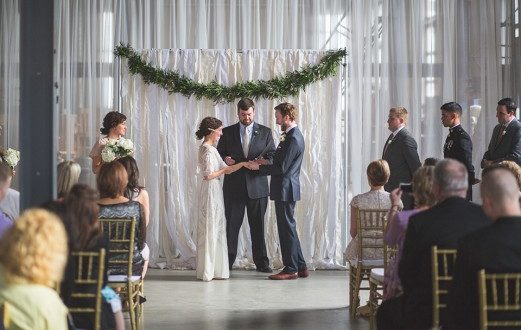 How To Make Your Own Affordable Wedding Backdrop With Velvet Curtains