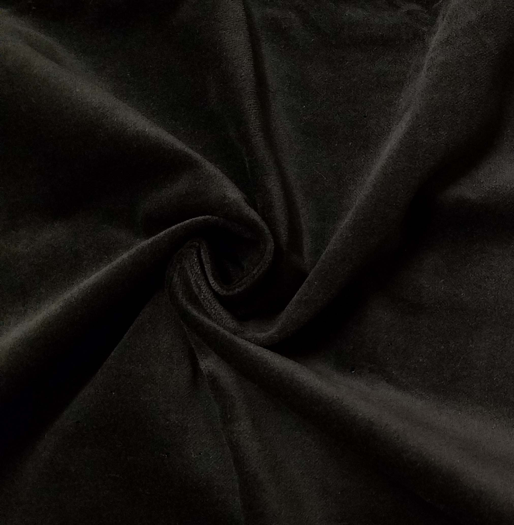 Black cotton velvet fabric by the yard for sale by lushes for Cloth for sale by the yard