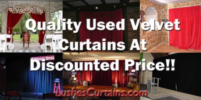 Alter Used Theatre And Event Curtains To Your Specifications Save