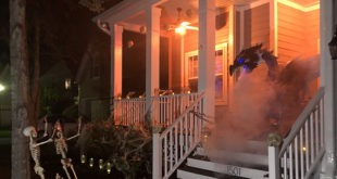 Creating a Scary Halloween Front Porch