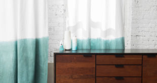 How to Dip Dye Your Old Velvet Curtains for a Fresh New Look