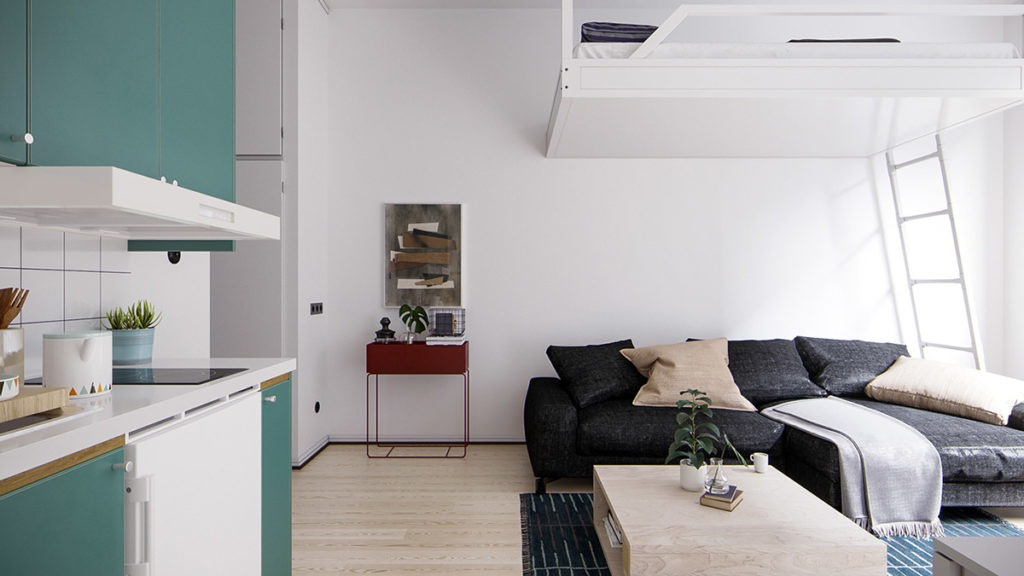 4   Tips For Living In a Small Apartment