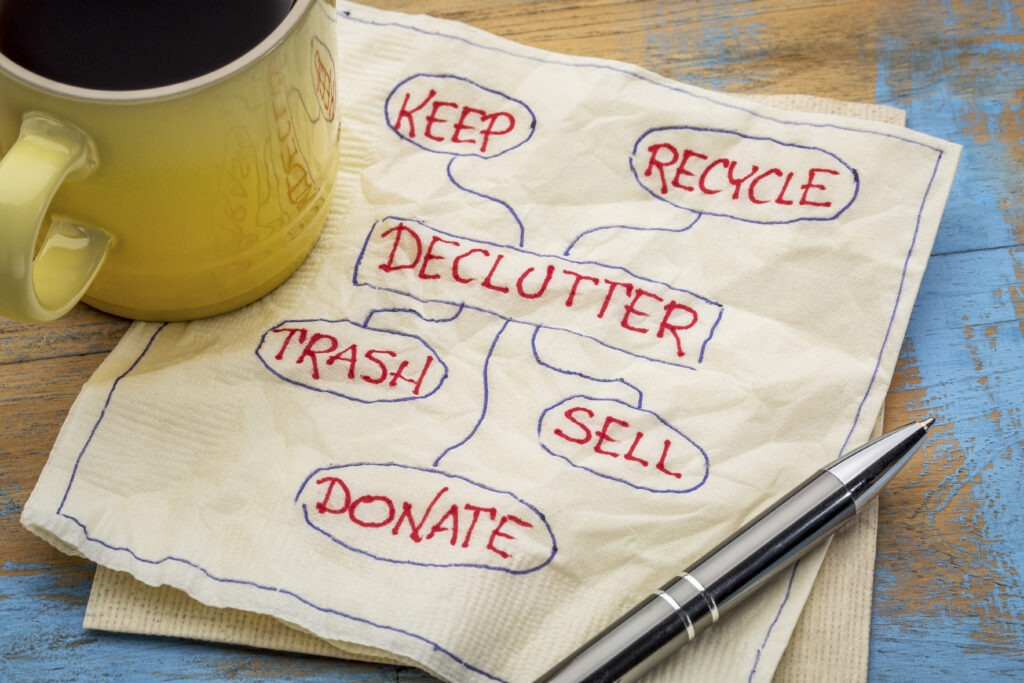 How To Declutter Your Home With Ease
